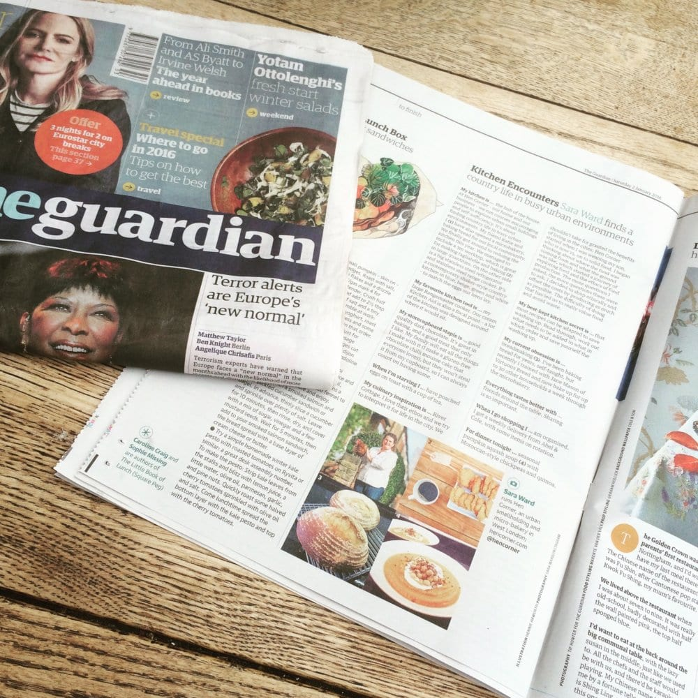 The Guardian - January '16   Hen Corner